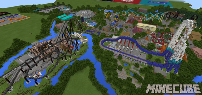 Thorpe Park (Theme Park) Map