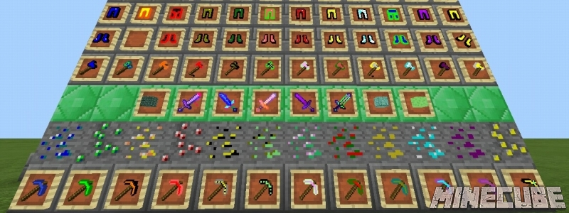 More Tools, Ore's and more AddOn