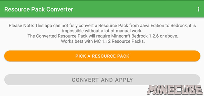 Resource Pack Converter