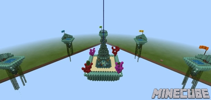 PC Aquatic Skywars Map