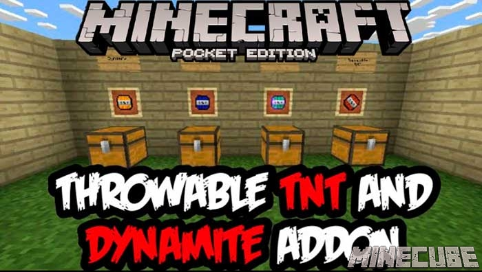 Throwing TNT & Dynamite Addon