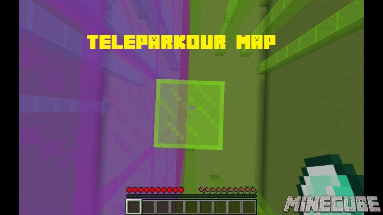 Teleparkour Map