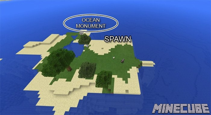 Ocean Monument At Spawn