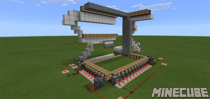 Automatic House Builder [Redstone] Map