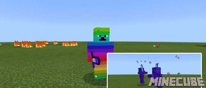 Colored Steves Addon