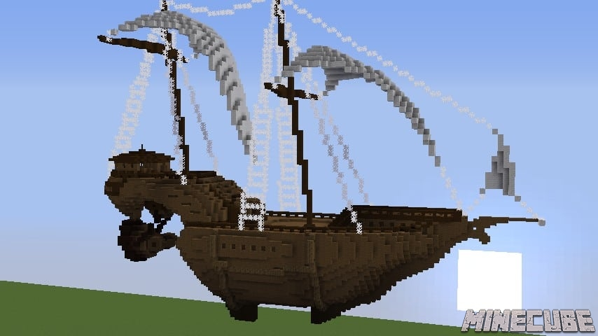 Flying Ship Map