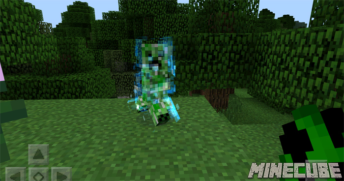 Charged Creeper Mod