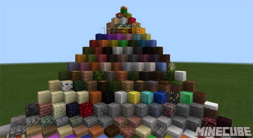 R3D Craft: Default Realism Texture pack