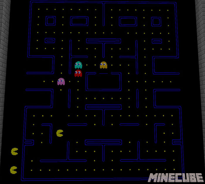 Pac-Man (Arcade Game) Map